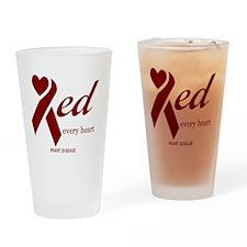 tshirt designs 0489 Drinking Glass