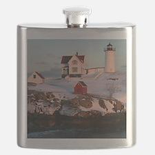 Nubble Light Tile Flask