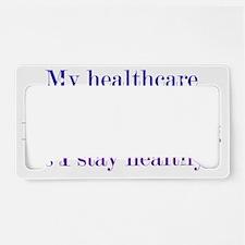 healthcare_btle1 License Plate Holder