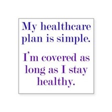 "healthcare1 Square Sticker 3"" x 3"""