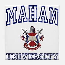 MAHAN University Tile Coaster