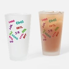 acronyms Drinking Glass