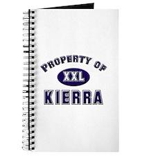 Property of kierra Journal