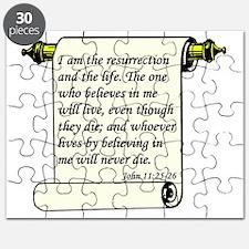John 11-25-26 Color Puzzle