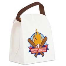 BASEBALL-V3-crop Canvas Lunch Bag