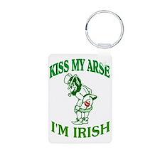 kiss my arse Keychains