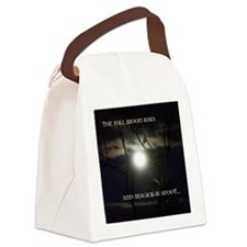 Full Moon Card Canvas Lunch Bag
