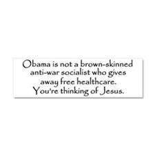 obama2lg Car Magnet 10 x 3