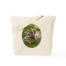 Wet Irish Wolfhound Tote Bag
