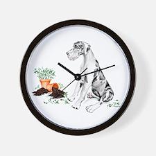 Harle UC Naughty Pup Wall Clock