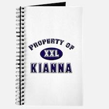 Property of kianna Journal
