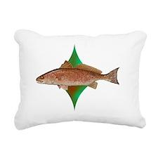 reddrumcenterlogo Rectangular Canvas Pillow