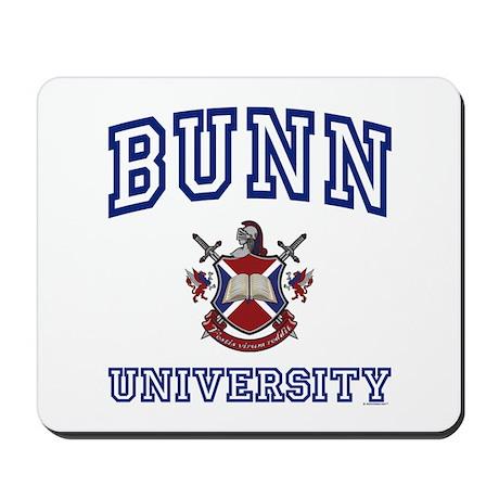 BUNN University Mousepad