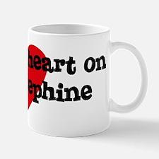 Heart on for Josephine Mug