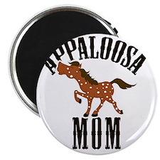 Appaloosa Mom Red Roan Horse Magnet