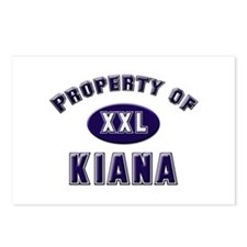 Property of kiana Postcards (Package of 8)