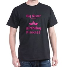 ofthebirthdayprincess_bigsister_50th T-Shirt