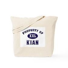 Property of kian Tote Bag