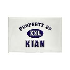 Property of kian Rectangle Magnet