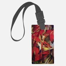 Franz Marc - Foxes Luggage Tag