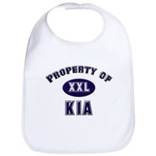 Property of kia Bib