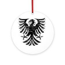 BlackEagle Round Ornament