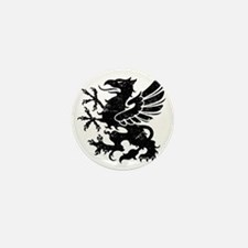 BlackGriffon Mini Button