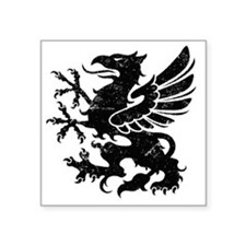 "BlackGriffon Square Sticker 3"" x 3"""