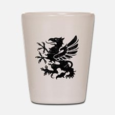 BlackGriffon Shot Glass