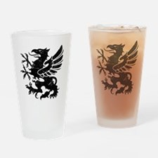 BlackGriffon Drinking Glass