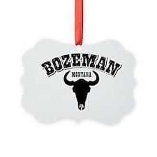 Bozeman Steer Ornament