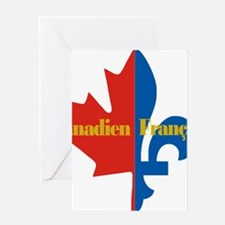 Canadien Francais pocket logo 2(g) Greeting Card