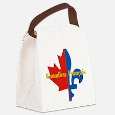 Canadien Francais pocket logo 2(g Canvas Lunch Bag