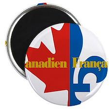 Canadien Francais pocket logo 2(g) Magnet