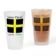 Flag_of_Saint_David-Light Drinking Glass