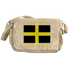 Flag_of_Saint_David-Dark Messenger Bag
