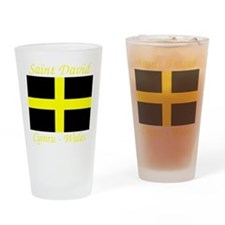 Flag_of_Saint_David-Dark Drinking Glass