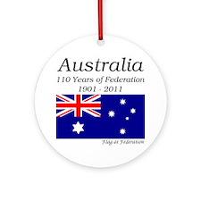 Australian Federation 110 Round Ornament