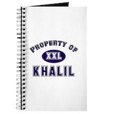 Property of khalil Journal