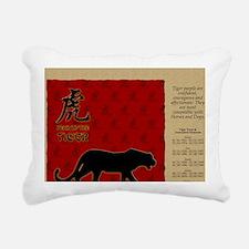 czodiac-03-tiger Rectangular Canvas Pillow