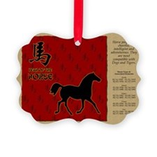czodiac-07-horse Ornament