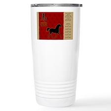 czodiac-07-horse Travel Mug