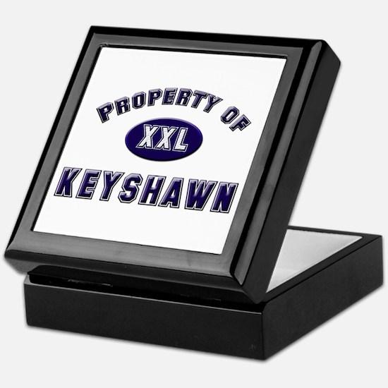 Property of keyshawn Keepsake Box