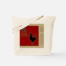 czodiac-10-rooster Tote Bag