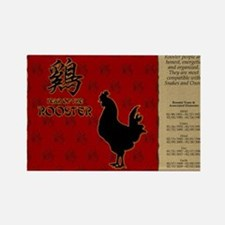 czodiac-10-rooster Rectangle Magnet