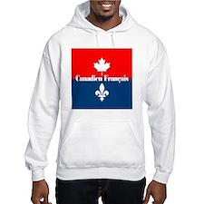 Canadien Francais (sq) Hoodie