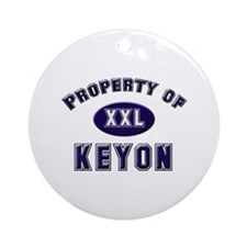 Property of keyon Ornament (Round)