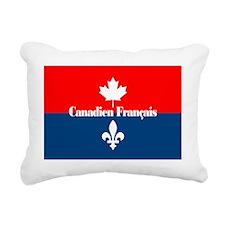 Canadien Francais (card) Rectangular Canvas Pillow
