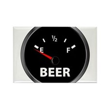 Out of Beer Rectangle Magnet (10 pack)