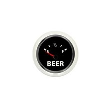 Out of Beer Mini Button (10 pack)